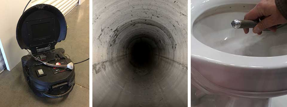 Sewer Camera Inspection & Cleaning