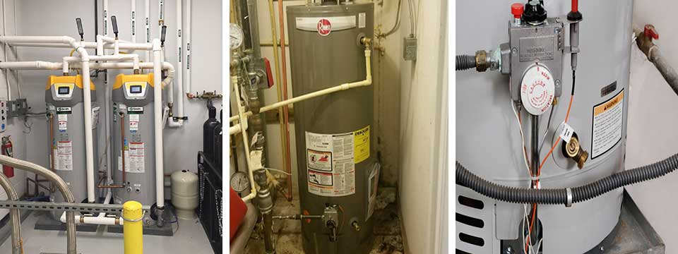 Water heater replacement and repair